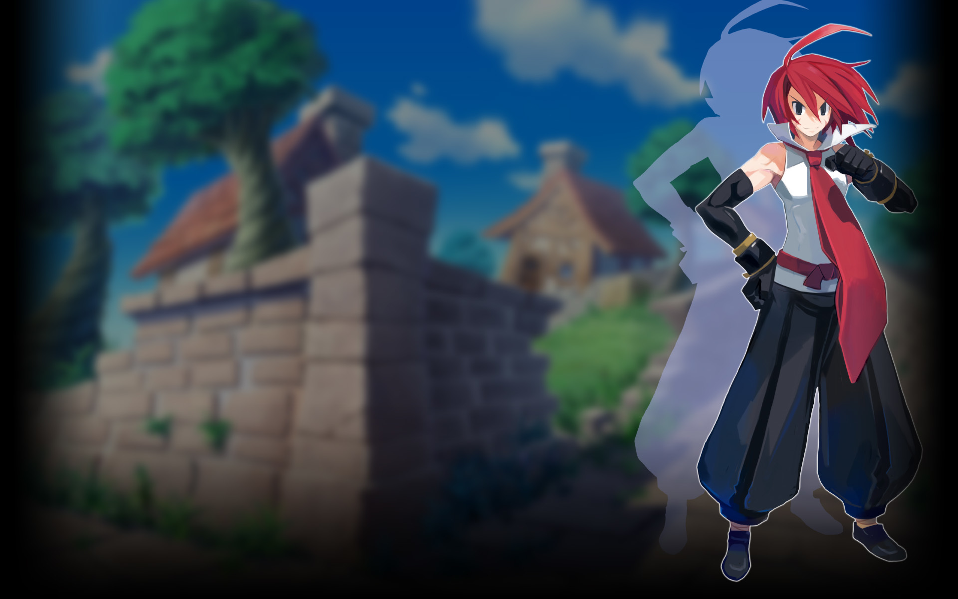 Disgaea 2 PC Wallpaper 001 - Adell