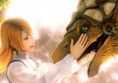 Final Fantasy III Wallpaper 009 – Affection
