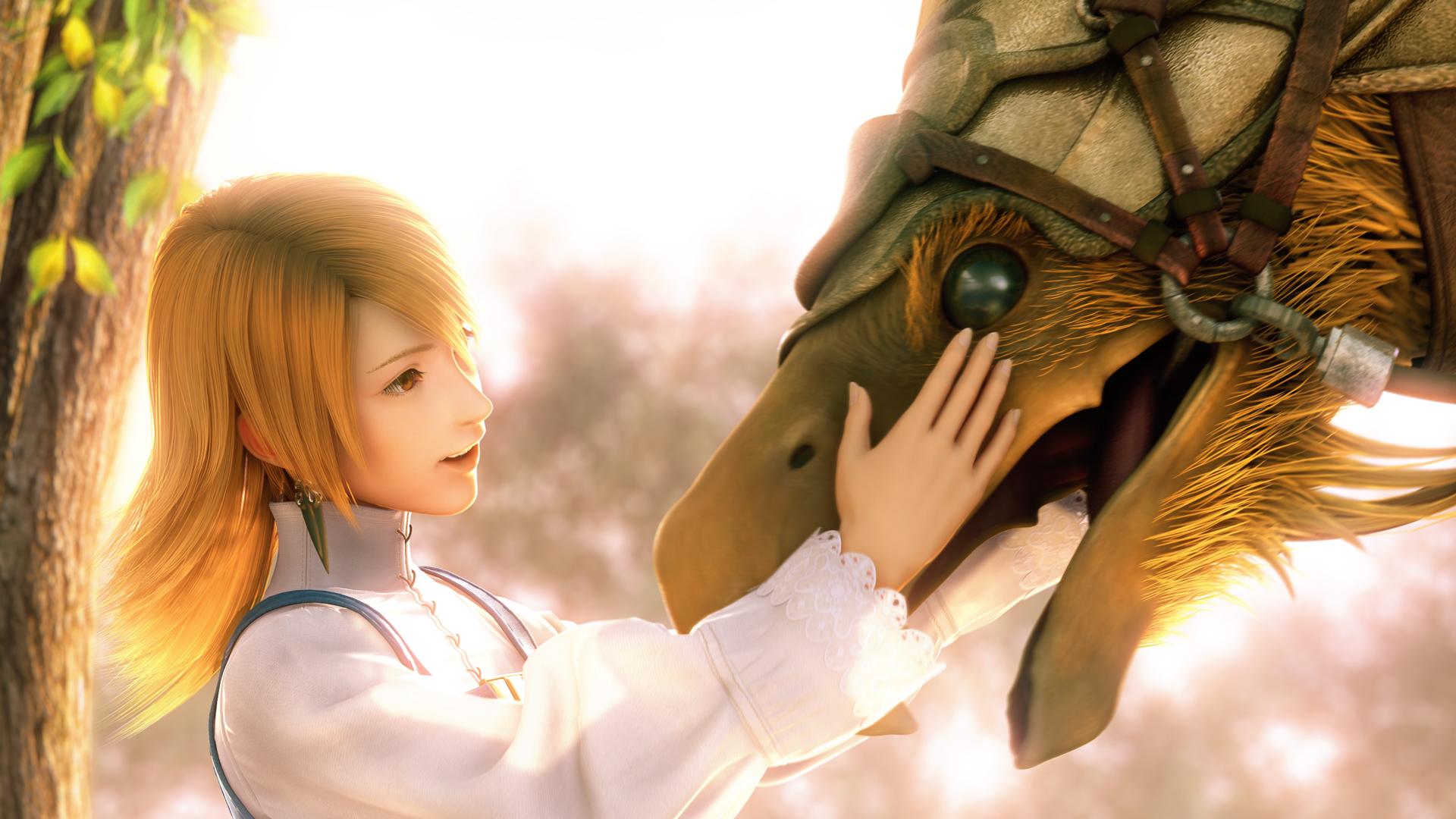 Final Fantasy III Wallpaper 009 – Affection