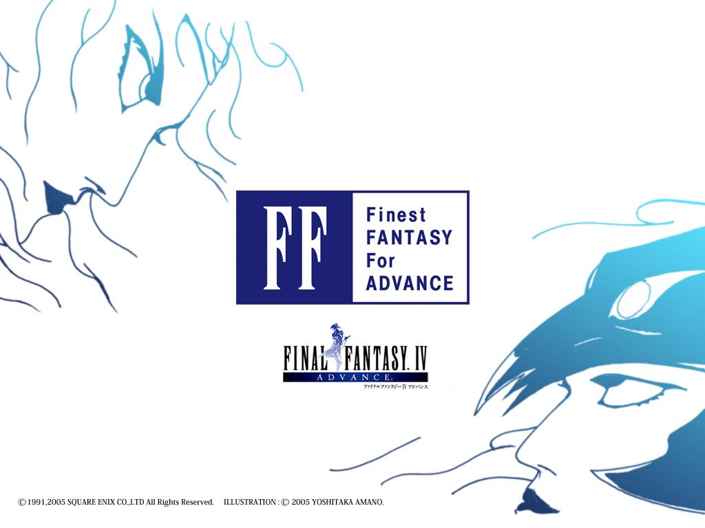 Final Fantasy IV Wallpaper 001 – Advance 01