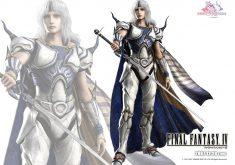 Final Fantasy IV Wallpaper 003 – Cecil Harvey (Paladin)