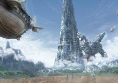 Final Fantasy IV Wallpaper 012 – Airship