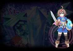 Hyperdevotion Noire: Goddess Black Heart Wallpaper 001 – Estelle