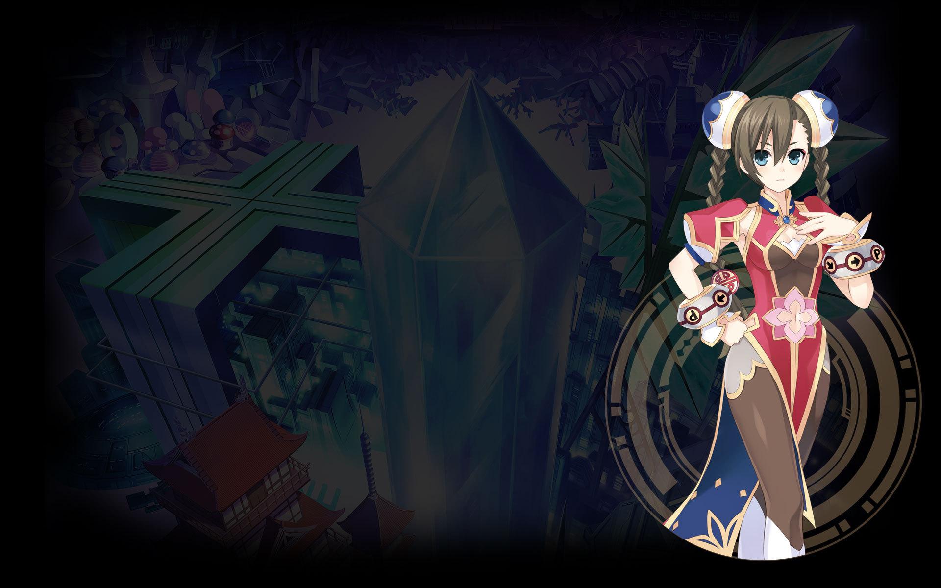 Hyperdevotion Noire: Goddess Black Heart Wallpaper 002 – LiFi