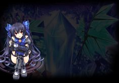 Hyperdevotion Noire: Goddess Black Heart Wallpaper 003 – Noire