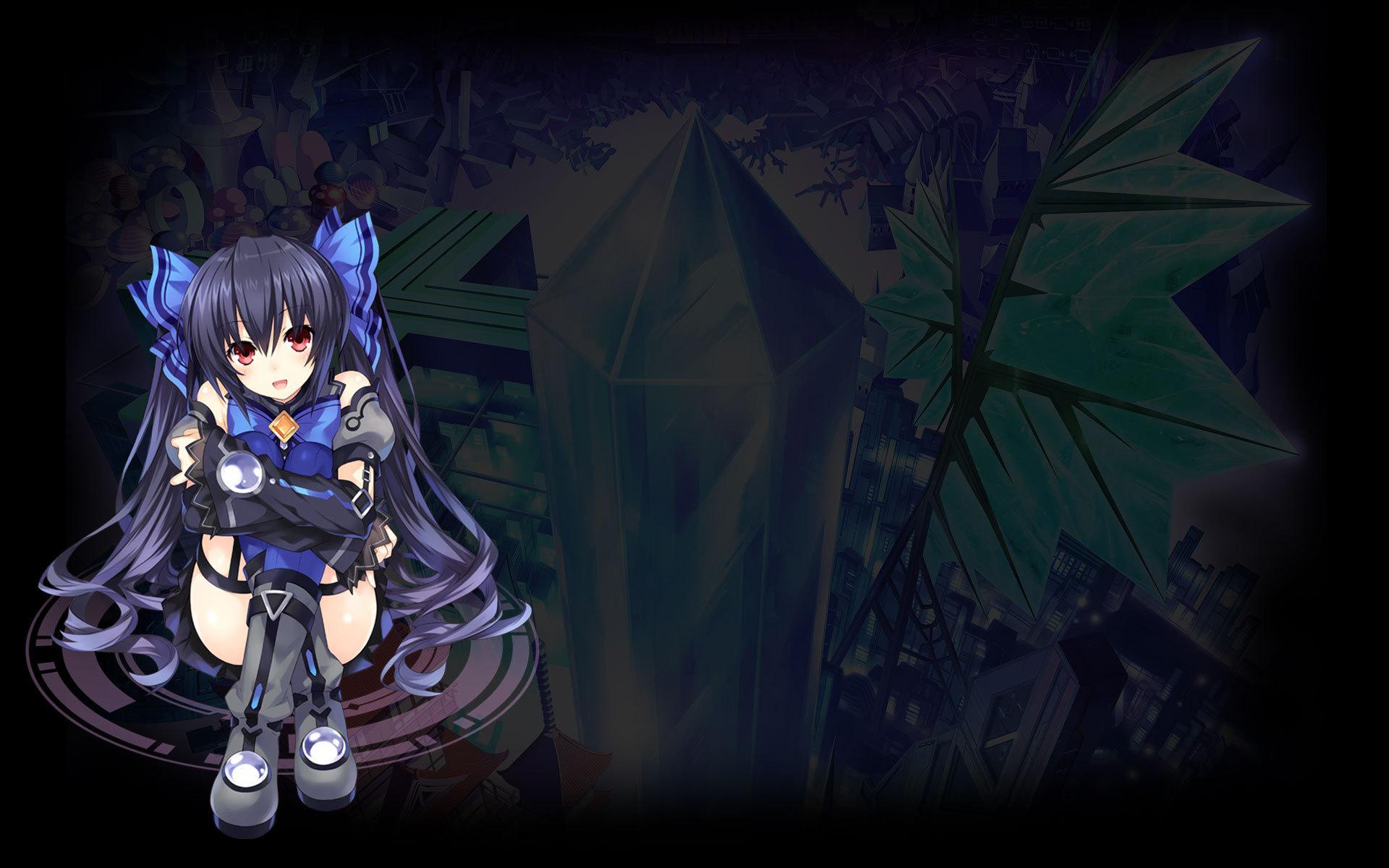 Hyperdevotion Noire: Goddess Black Heart Wallpaper 003 – Noire
