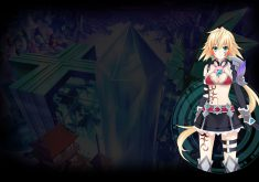 Hyperdevotion Noire: Goddess Black Heart Wallpaper 004 – EinAl
