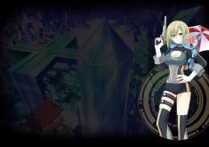 Hyperdevotion Noire: Goddess Black Heart Wallpaper 006 – Vio