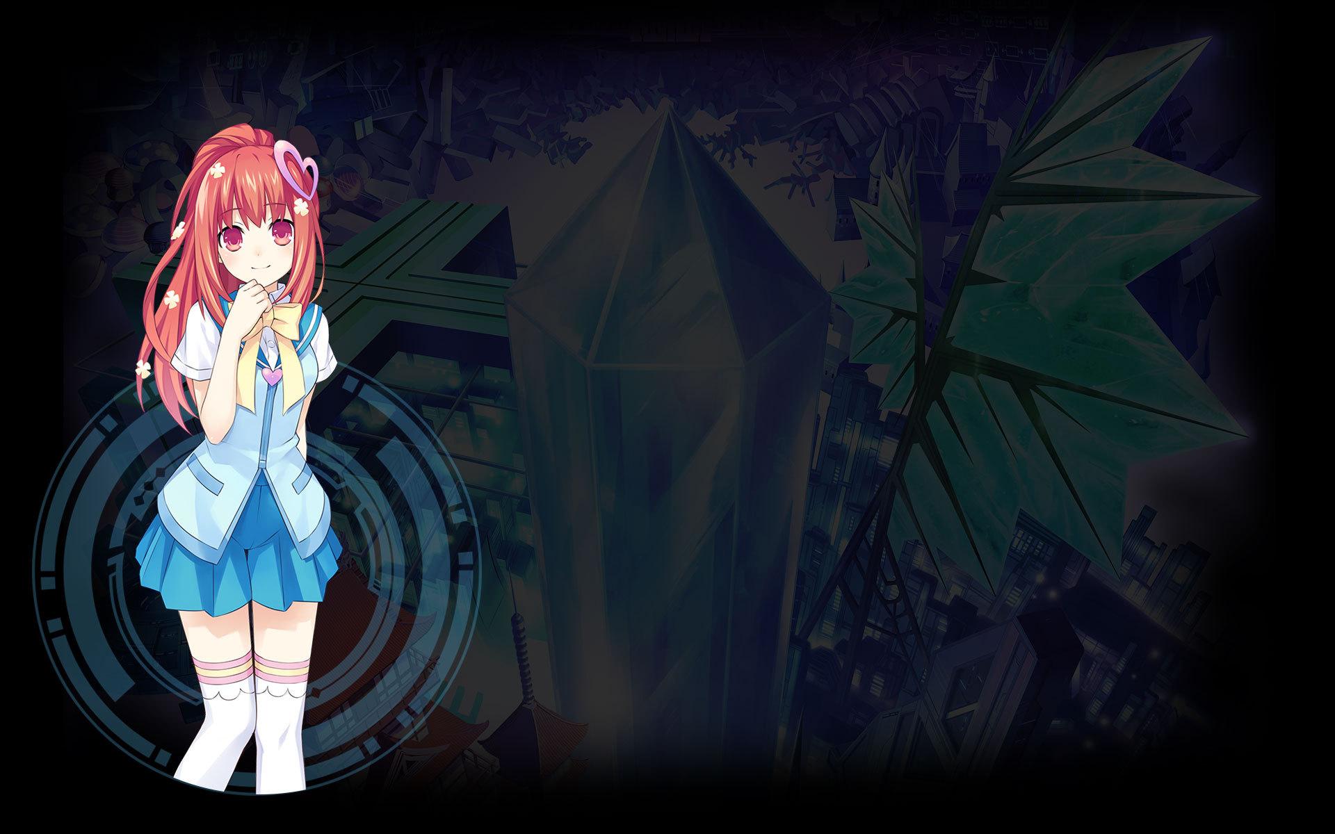 Hyperdevotion Noire: Goddess Black Heart Wallpaper 010 – Saori