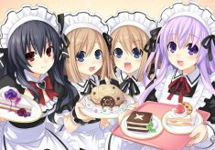 Hyperdimension Neptunia Re;Birth 2: Sisters Generation Wallpaper 013 – Maid Look