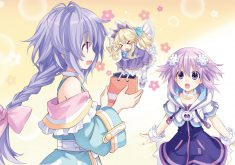 Hyperdimension Neptunia Re;Birth 3: V Generation Wallpaper 002 – Plutia & Histoire