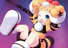 Hyperdimension Neptunia Re;Birth 3: V Generation Wallpaper 006 – Peashy