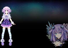 Hyperdimension Neptunia Re;Birth 3: V Generation Wallpaper 011 – Neptune