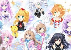 Hyperdimension Neptunia U: Action Unleashed Wallpaper 004 – All Stars