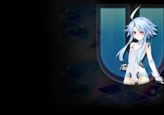 Hyperdimension Neptunia U: Action Unleashed Wallpaper 009 – White Heart HDD