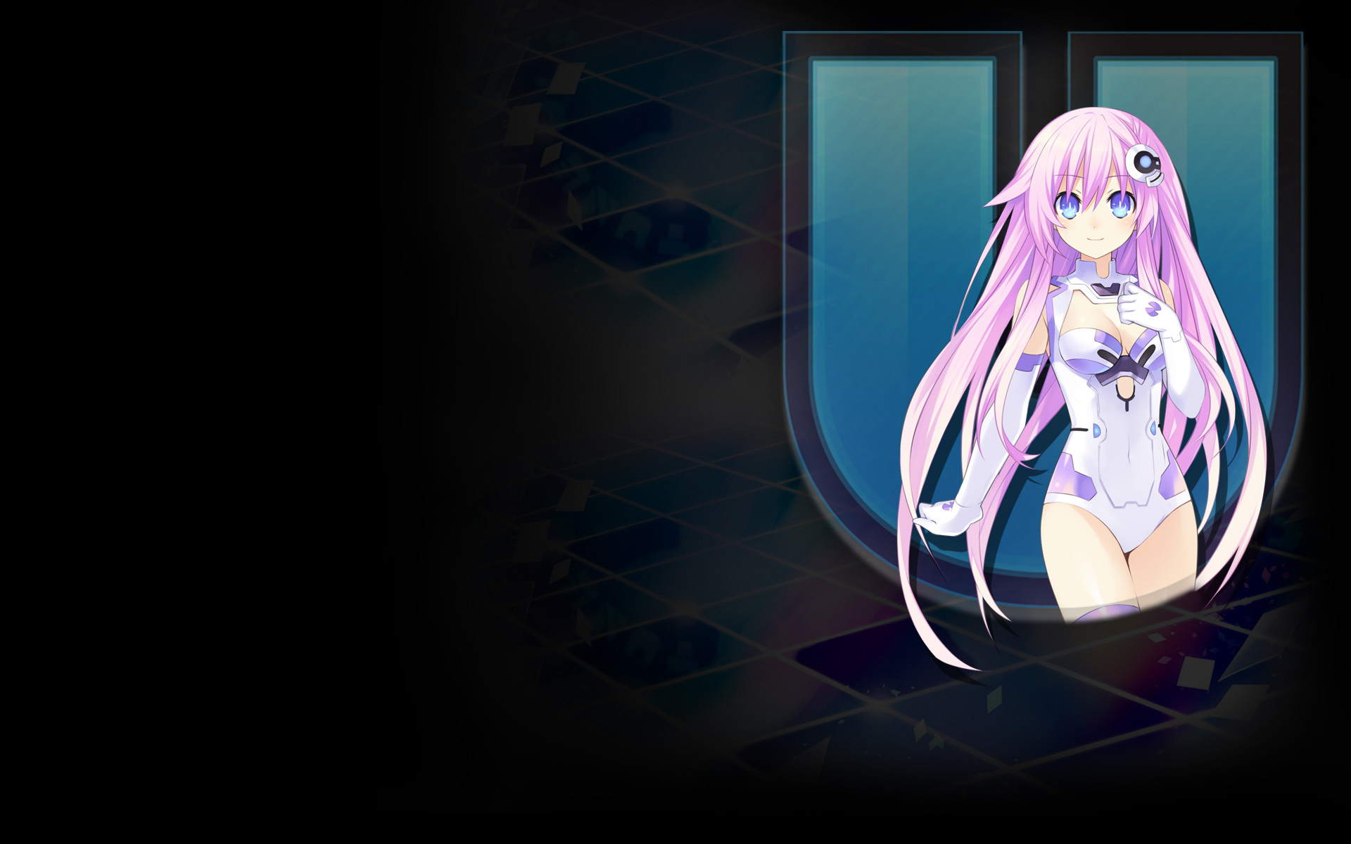 Hyperdimension Neptunia U: Action Unleashed Wallpaper 011 – Purple Sister HDD