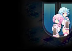 Hyperdimension Neptunia U: Action Unleashed Wallpaper 012 – White Sisters HDD