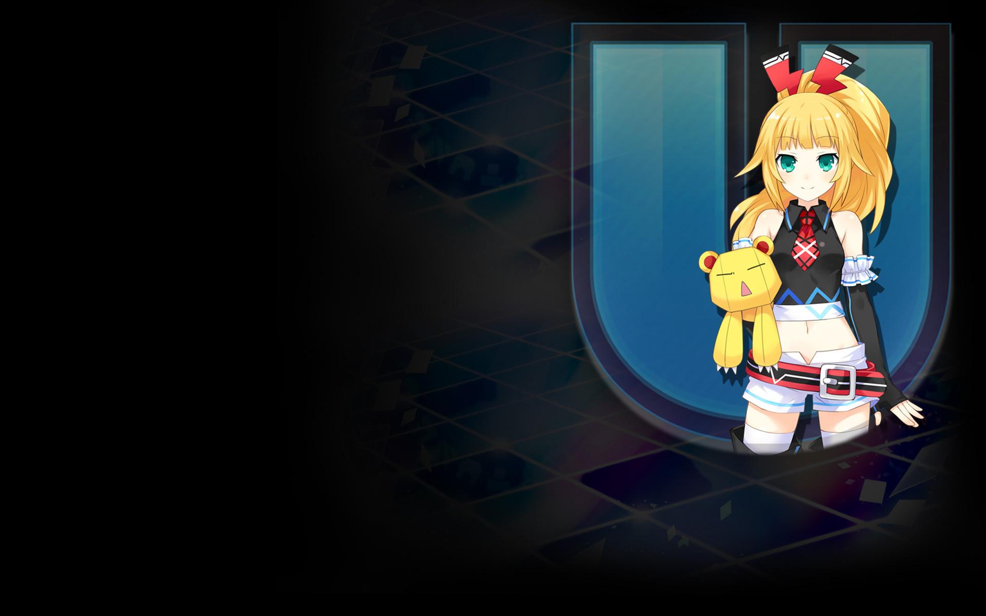 Hyperdimension Neptunia U: Action Unleashed Wallpaper 013 – Dengekiko BG