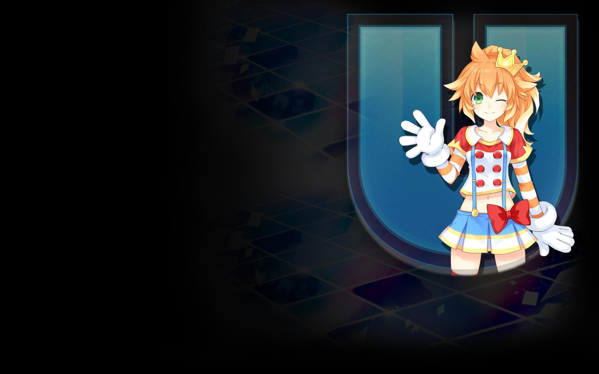 Hyperdimension Neptunia U: Action Unleashed Wallpaper 014 – Famitsu BG