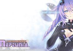 Hyperdimension Neptunia Wallpaper 003 – Purple Heart (Neptune)