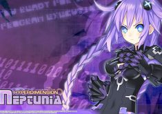 Hyperdimension Neptunia Wallpaper 004 – Purple Heart (Neptune)