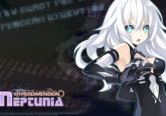 Hyperdimension Neptunia Wallpaper 005 – Black Heart (Noire)