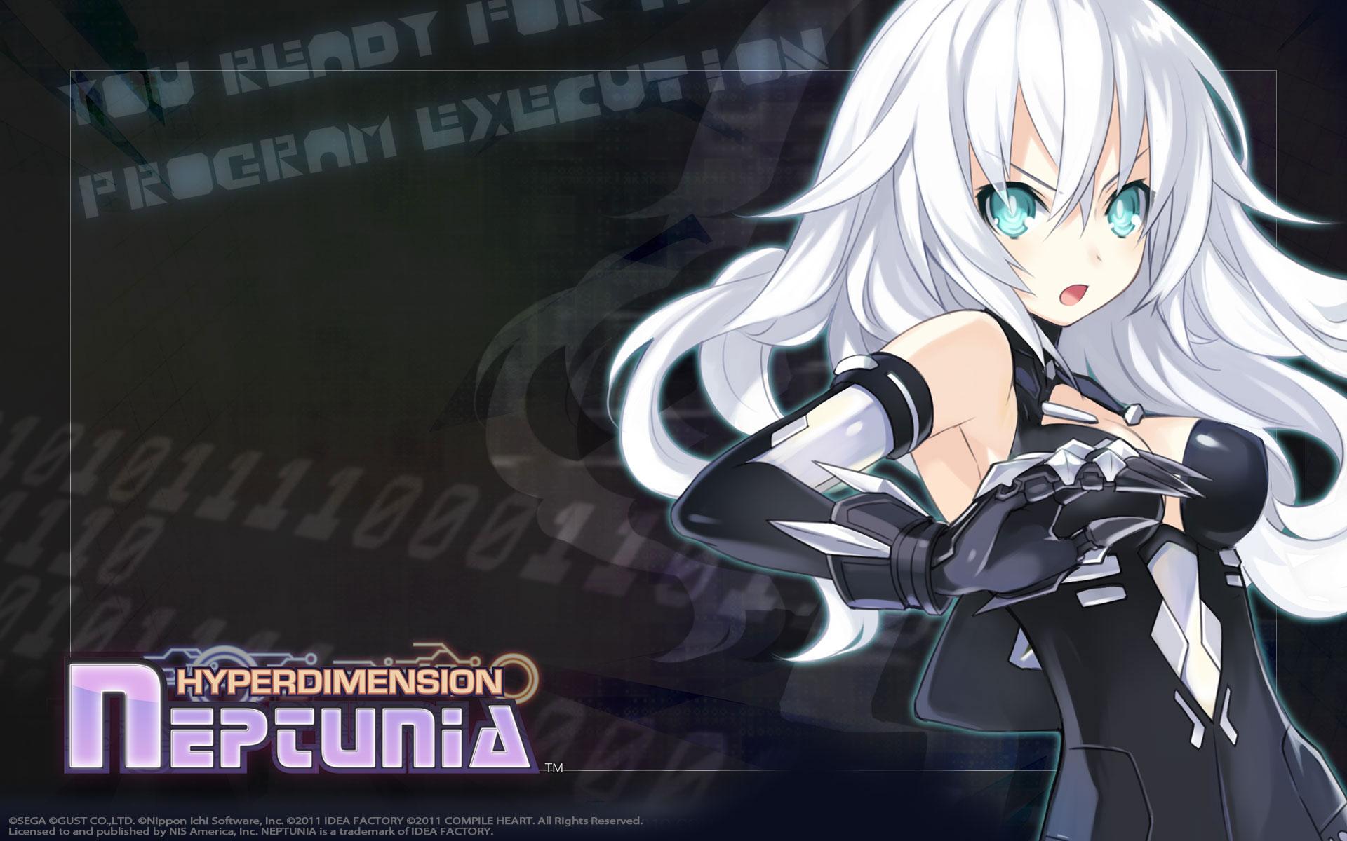 Hyperdimension Neptunia Wallpaper 005 – Black Heart (Noire)