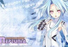 Hyperdimension Neptunia Wallpaper 006 – White Heart (Blanc)