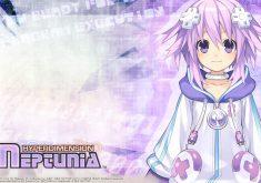 Hyperdimension Neptunia Wallpaper 008 – Neptune