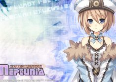 Hyperdimension Neptunia Wallpaper 010 – Blanc