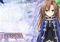 Hyperdimension Neptunia Wallpaper 013 – IF