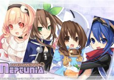 Hyperdimension Neptunia Wallpaper 018 – Compa, IF, Gust & Nisa