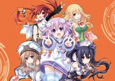 Megadimension Neptunia VII Wallpaper 009 – 4 Goddesses & Uzume