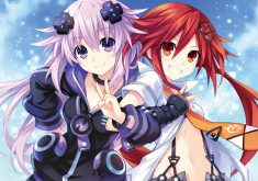 Megadimension Neptunia VII Wallpaper 012 – Adult Neptune & Uzume