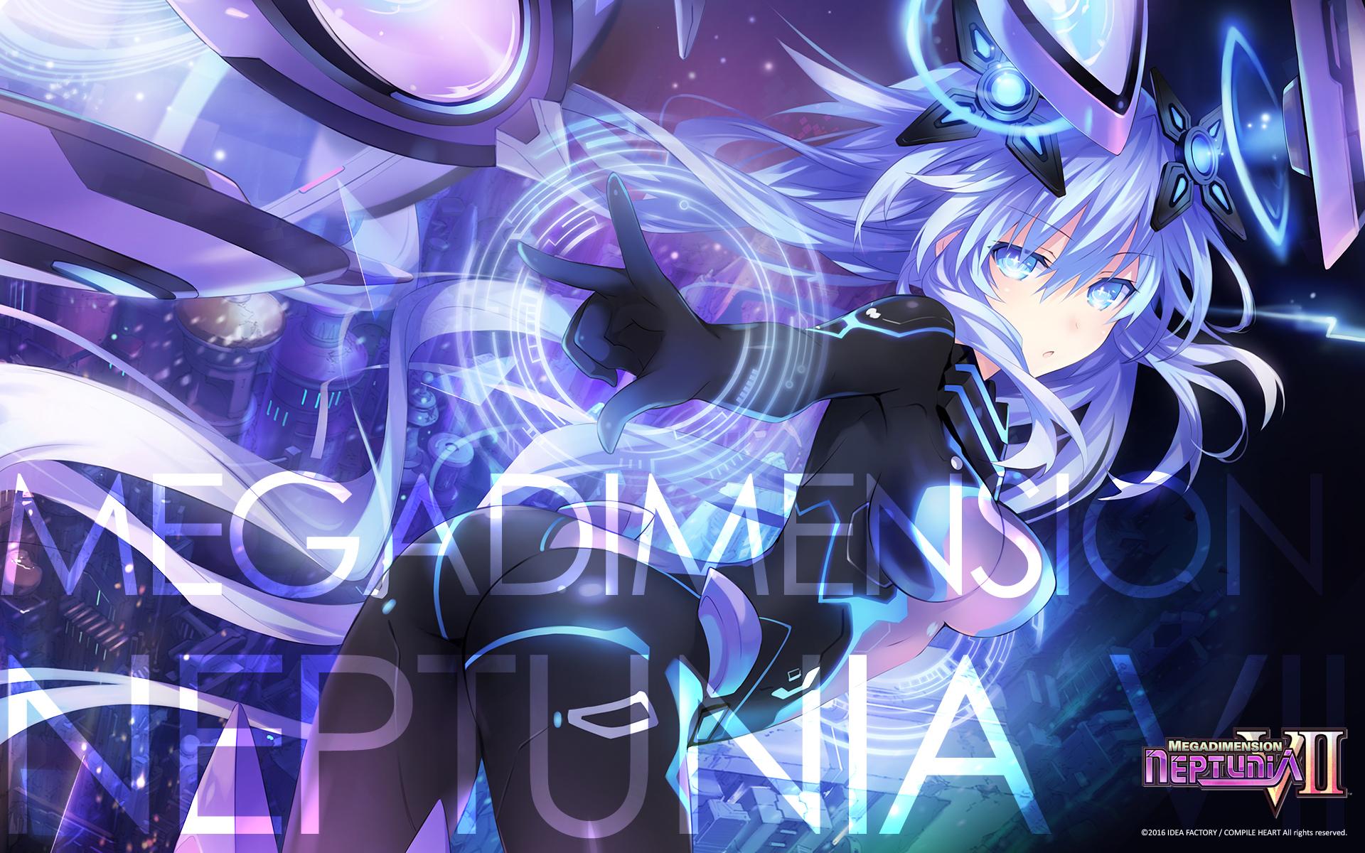 Megadimension Neptunia VII Wallpaper 016 Purple Heart