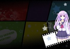 MegaTagmension Blanc + Neptune vs Zombies Wallpaper 005 – Nepgear