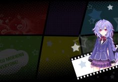MegaTagmension Blanc + Neptune vs Zombies Wallpaper 006 – Plutia