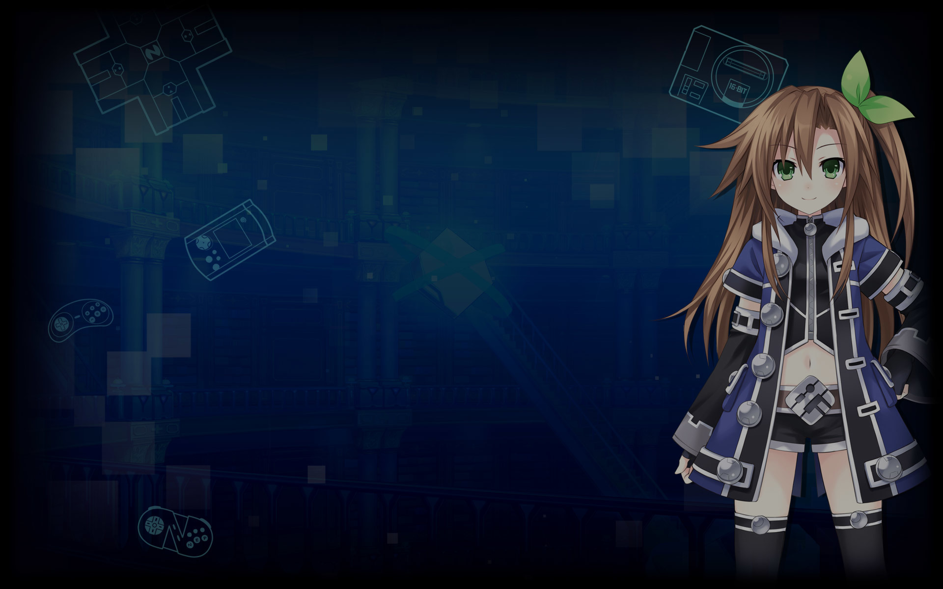 Superdimension Neptune VS SEGA Hard Girls Wallpaper 001 - IF