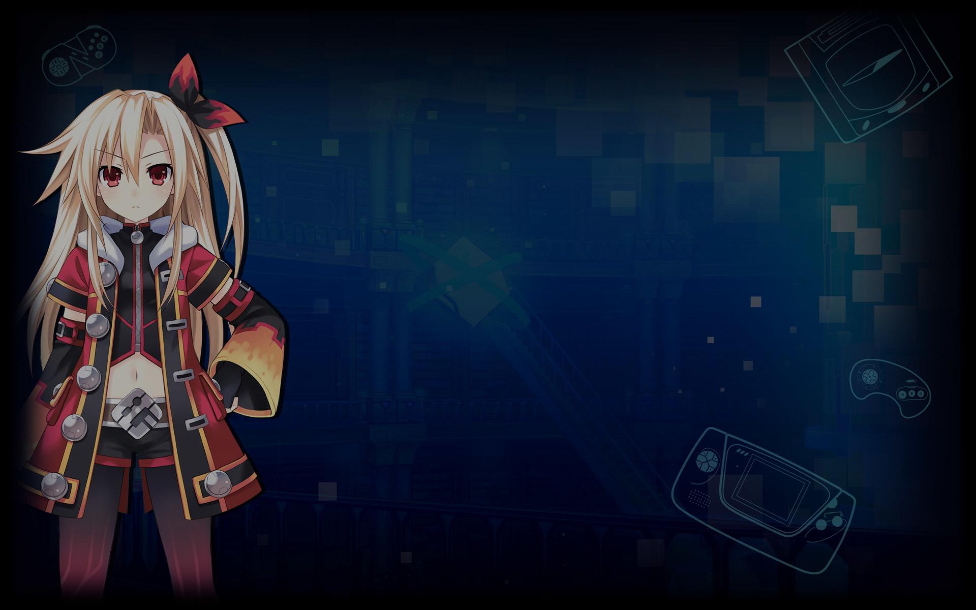 Superdimension Neptune vs SEGA Hard Girls Wallpaper 003 – Flame Awakening IF