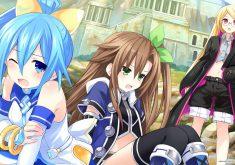 Superdimension Neptune vs SEGA Hard Girls Wallpaper 007 – Segami, if & Mega Drive