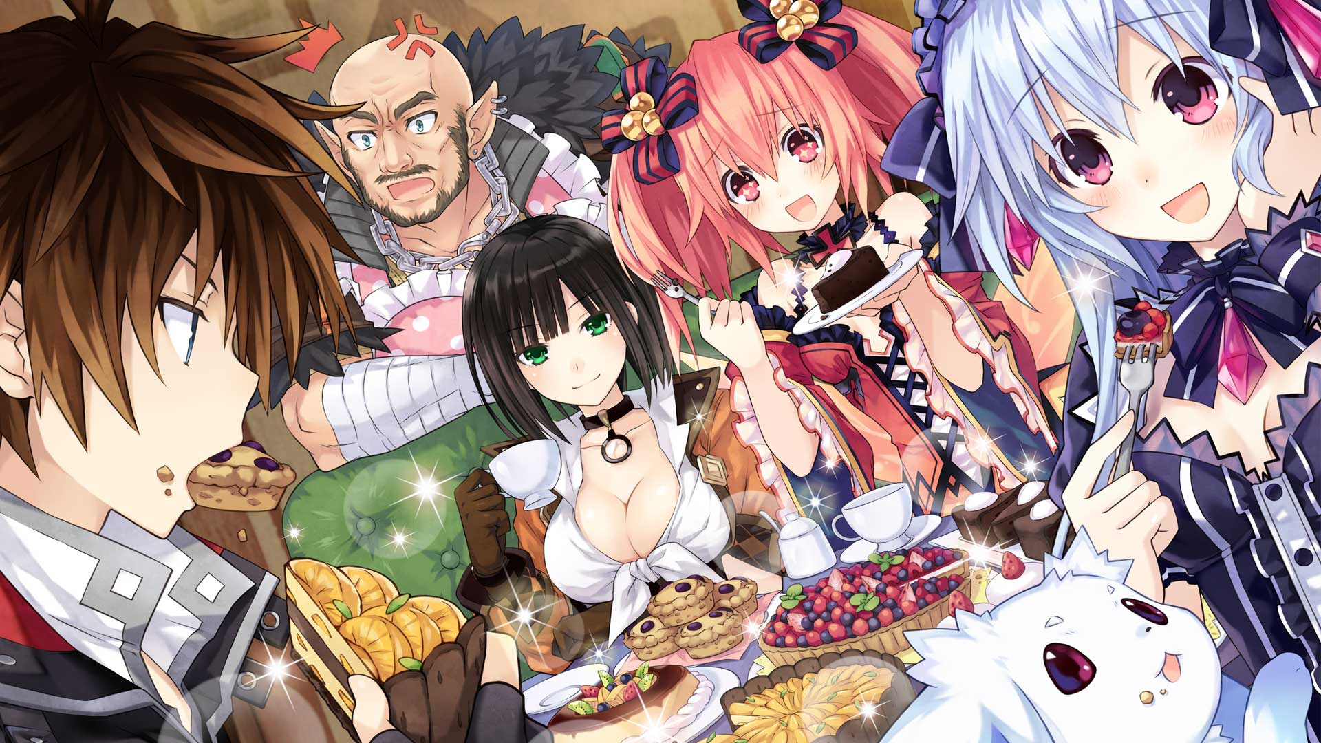 Fairy Fencer F Wallpaper 007 – Welcome Feast