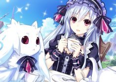 Fairy Fencer F Wallpaper 008 – Tiara
