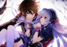 Fairy Fencer F Wallpaper 010 – Fang & Tiara