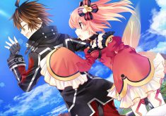Fairy Fencer F: Advent Dark Force Wallpaper 016 – Fang and Eryn