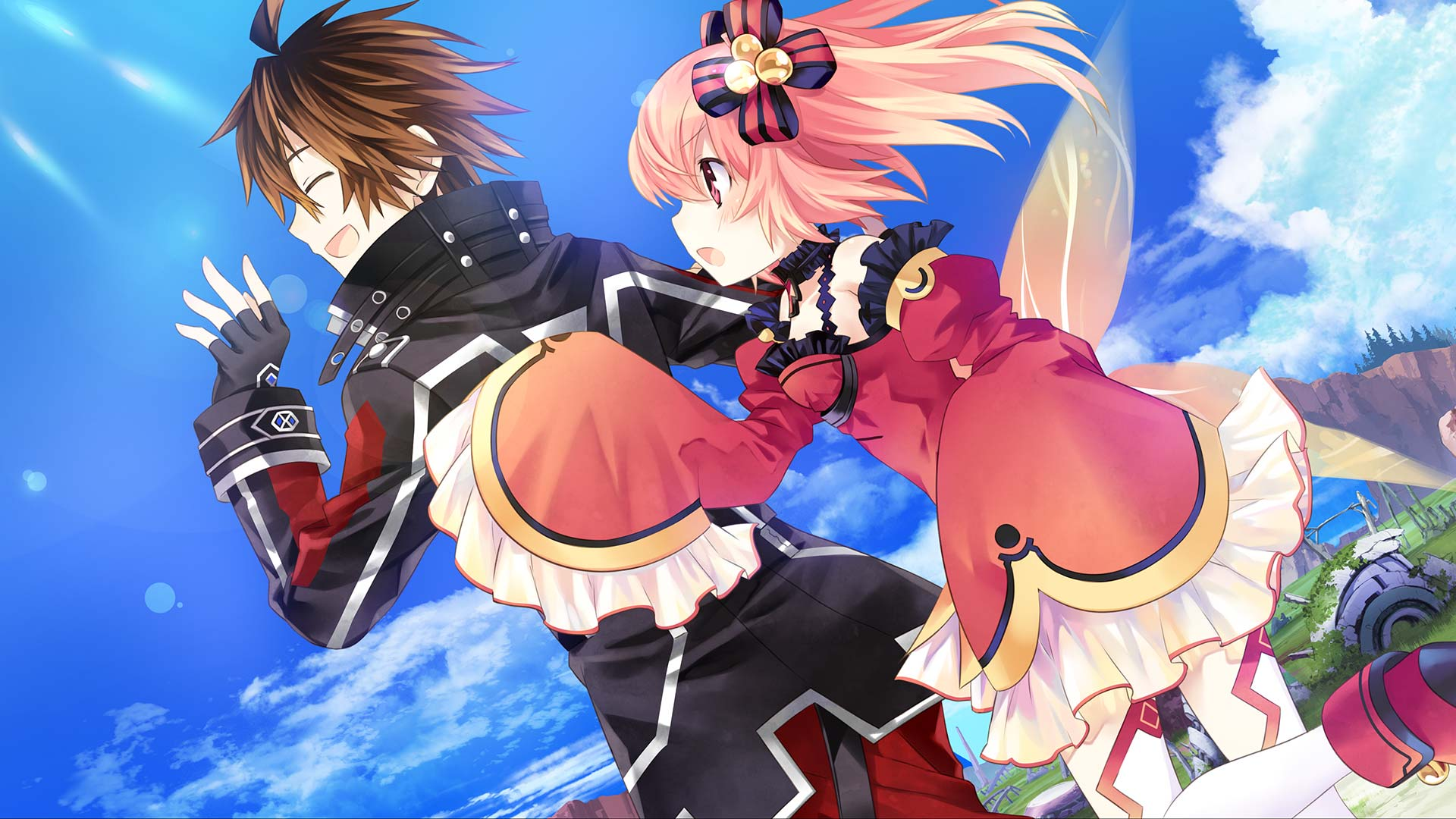 Fairy Fencer F: Advent Dark Force Wallpaper 016 - Fang and Eryn