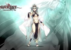 Agarest Generations of War Wallpaper 007 – Dyshana