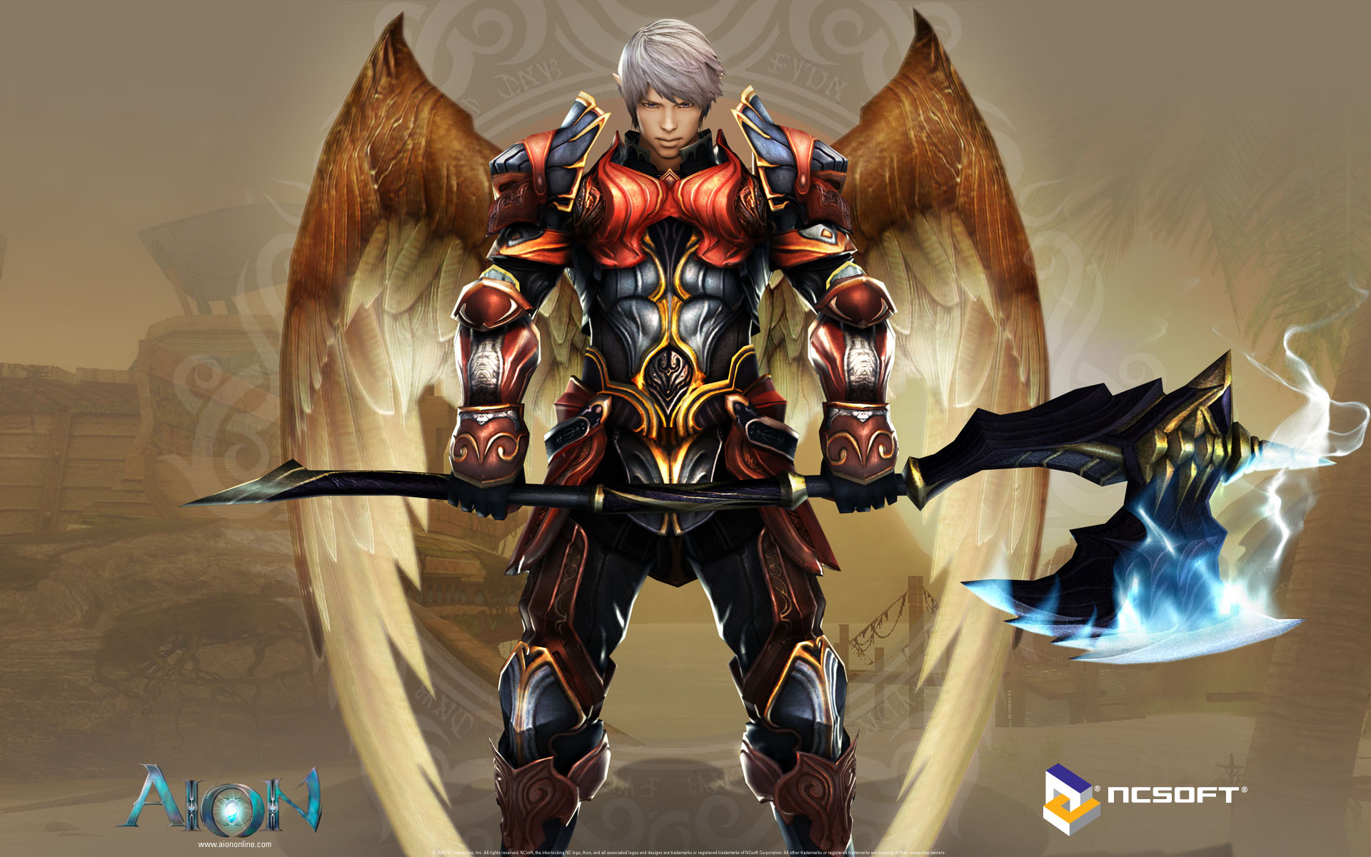 Aion Wallpaper 002 – Elyos Gladiator