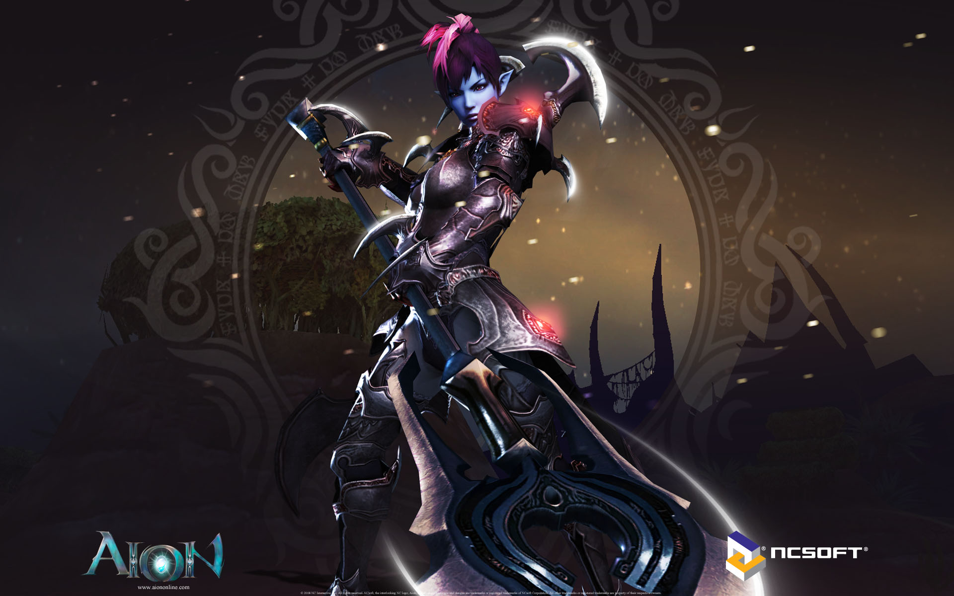 Aion wallpaper 006 asmodian gladiator wallpapers ethereal games aion wallpaper 006 asmodian gladiator voltagebd Gallery