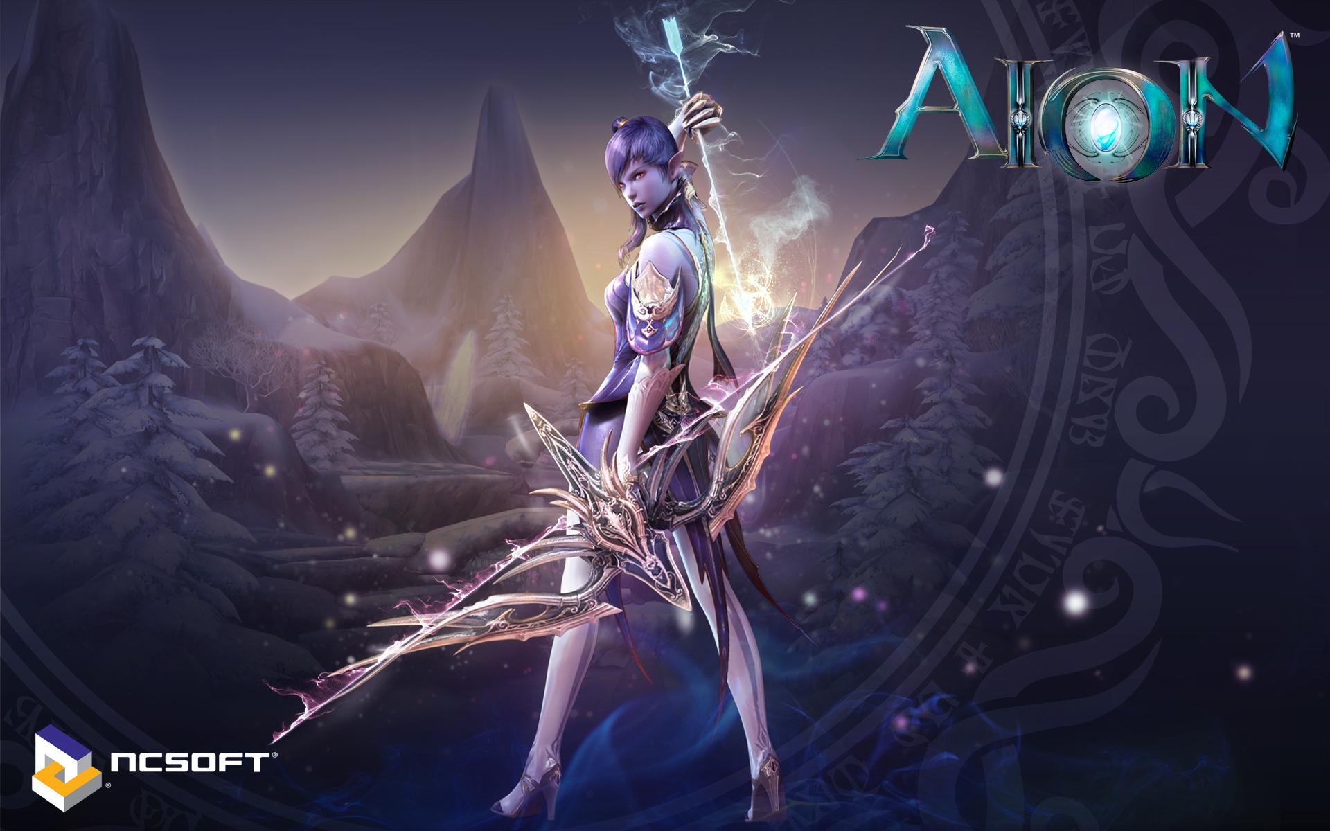 Aion Wallpaper 013 – Asmodian Ranger