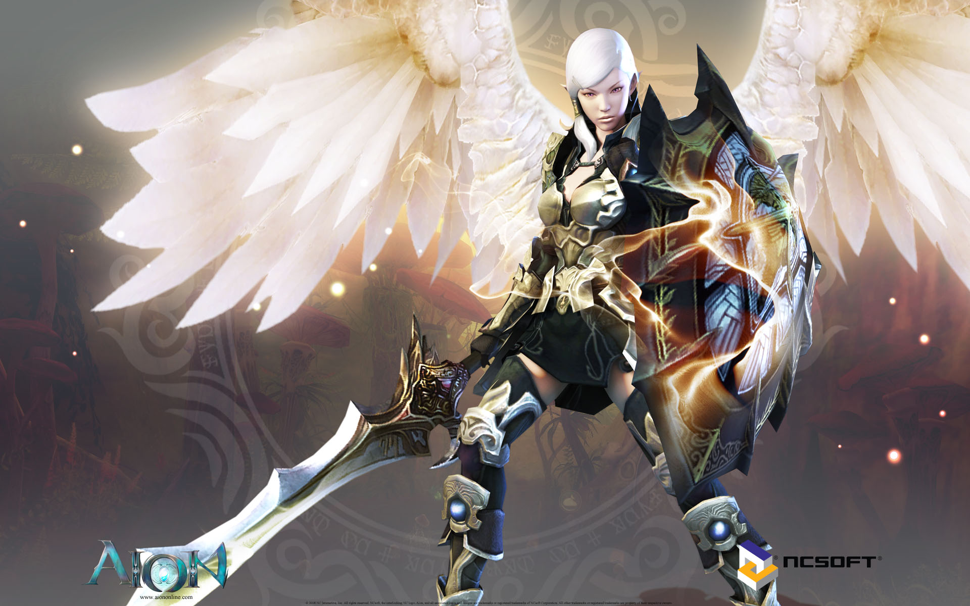 Aion Wallpaper 019 – Elyos Templar